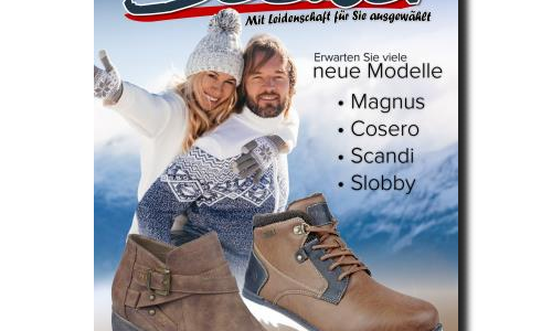 Katalogerstellung Herbst Winter 2018 / 800 Produkte